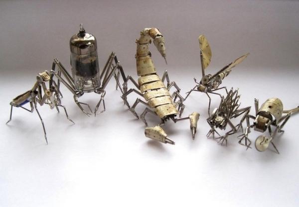 Механические насекомые от Джастина Гершенсон-Гейтса (Фото 2)