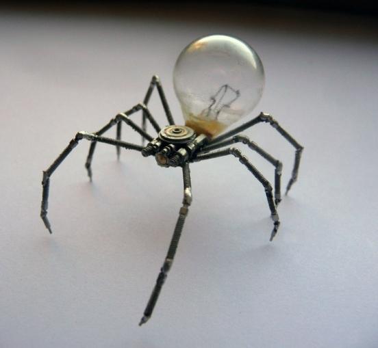 Механические насекомые от Джастина Гершенсон-Гейтса (Фото 12)