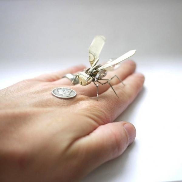 Механические насекомые от Джастина Гершенсон-Гейтса (Фото 3)