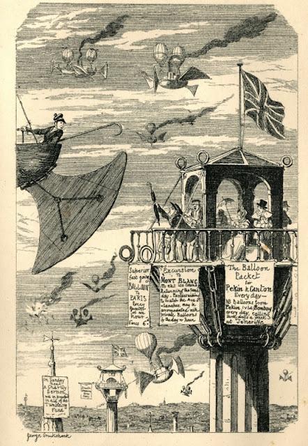 Стимпанк в викторианских рисунках (Фото 2)