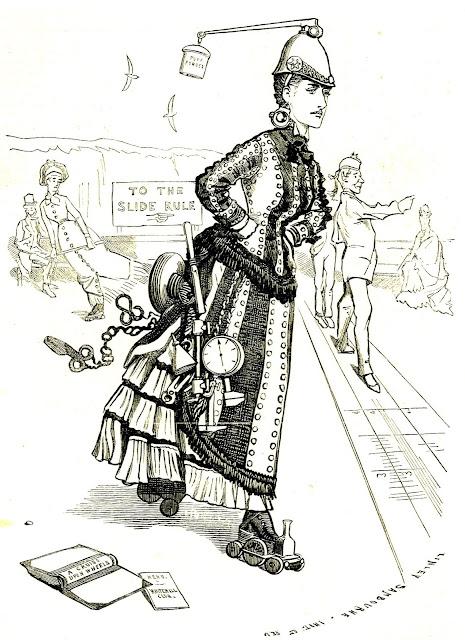 Стимпанк в викторианских рисунках