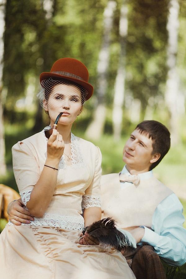 Викторианский аромат - свадебные костюмы (Фото 3)