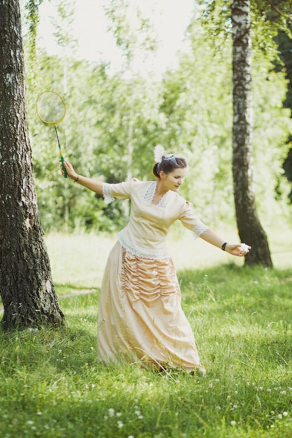 Викторианский аромат - свадебные костюмы (Фото 5)
