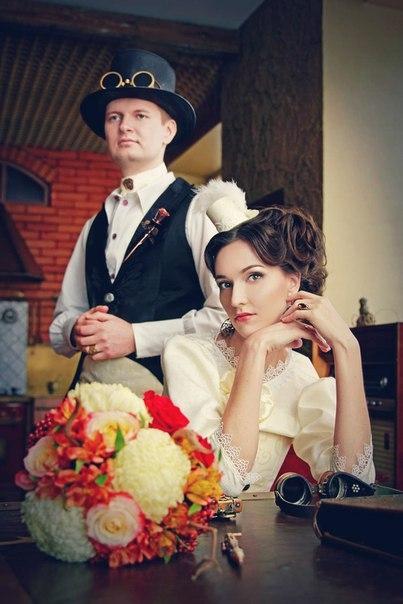 стимпанк-свадьба Минск 5