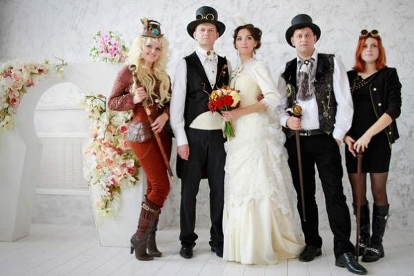 стимпанк-свадьба Минск 1