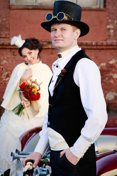 стимпанк-свадьба Минск 4