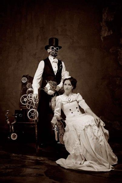 стимпанк-свадьба Минск 7