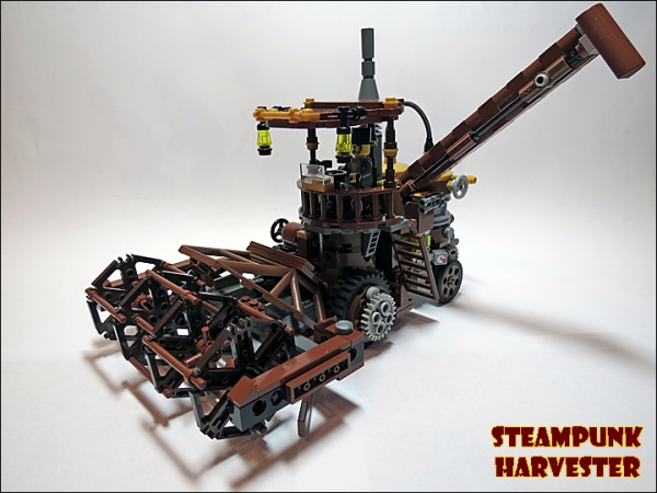 SteamPunk Harvester из LEGO (Фото 2)