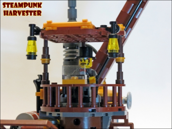 SteamPunk Harvester из LEGO (Фото 13)