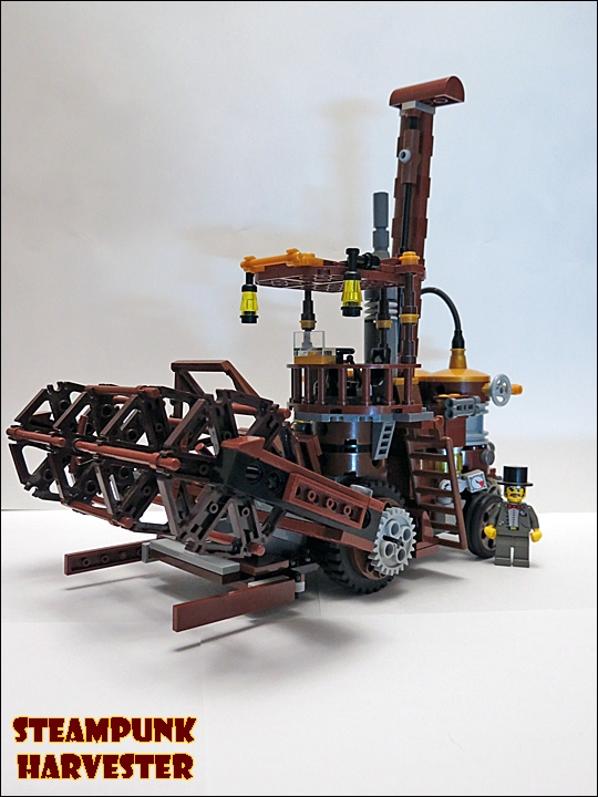 SteamPunk Harvester из LEGO (Фото 6)
