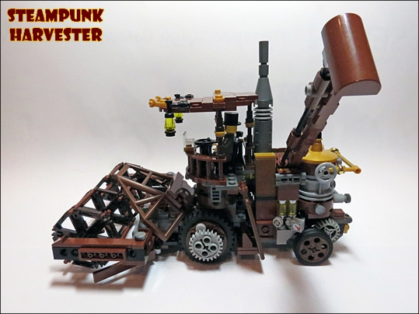 SteamPunk Harvester из LEGO (Фото 14)