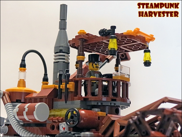 SteamPunk Harvester из LEGO (Фото 3)