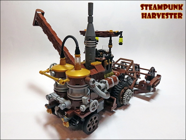SteamPunk Harvester из LEGO (Фото 5)