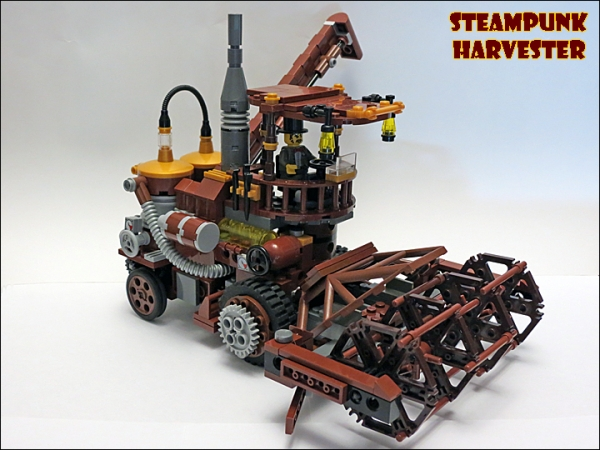 SteamPunk Harvester из LEGO (Фото 15)