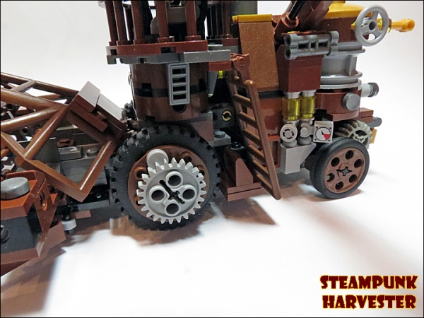 SteamPunk Harvester из LEGO (Фото 9)