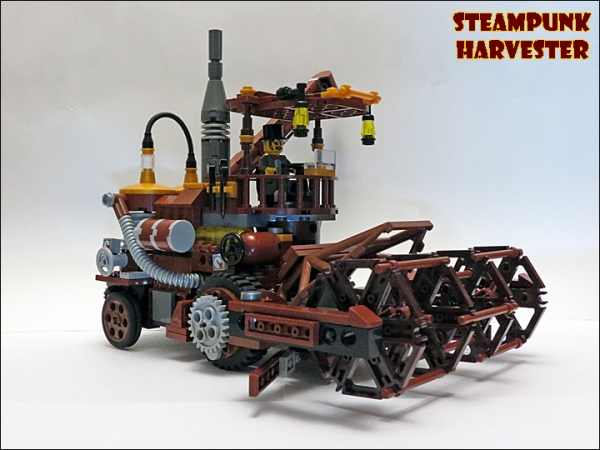 SteamPunk Harvester из LEGO