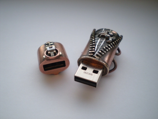 """Флешка """"Slide-fastener"""" (Фото 62)"""