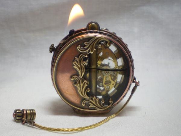 Зажигалка с часами