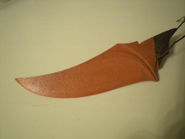 Нож. Или каким должен быть стимпанк нож?