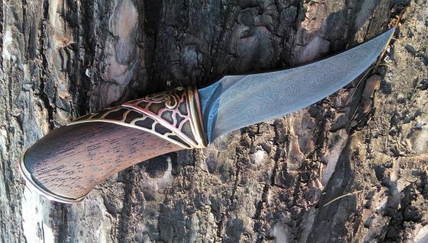 Нож часть 2 (чехол). Или каким должен быть стимпанк нож?