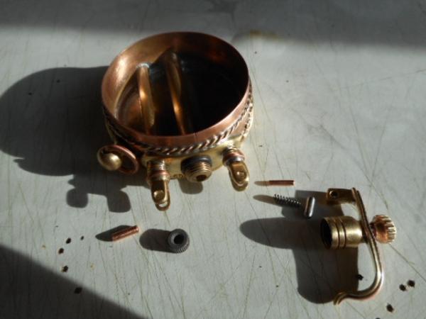Зажигалка-часы с крышкой