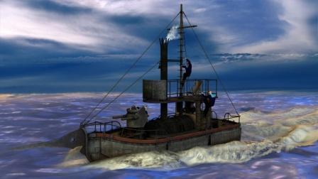 Steam Patrol Boat