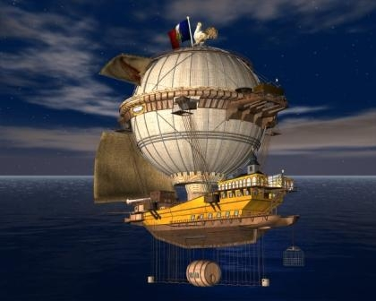 Airship Minerva