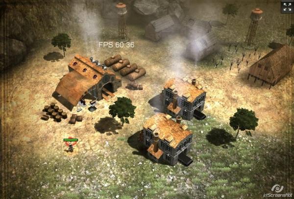 Smoke & Steel - 3D онлайн стимпанк стратегия (в разработке)