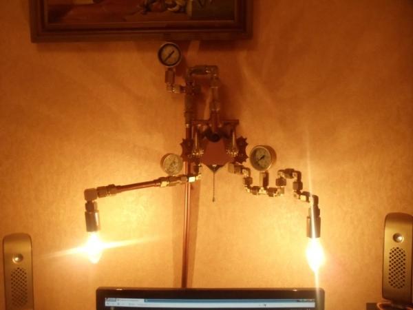 """Настенный светильник """"Lightsteam"""" (Фото 4)"""