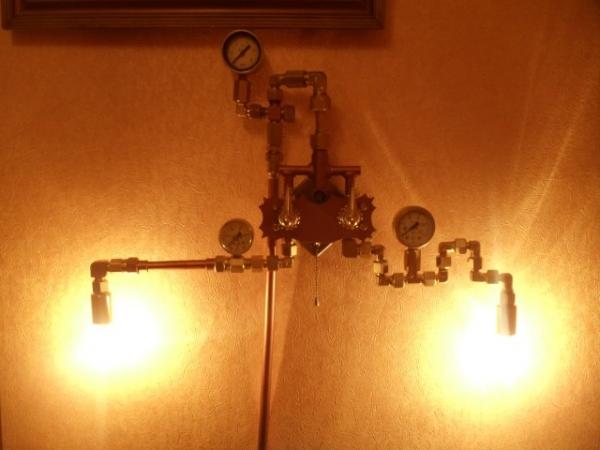 """Настенный светильник """"Lightsteam"""" (Фото 2)"""