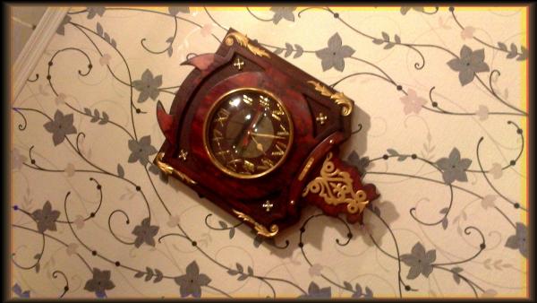 Часы {В неизвестном направлении} (Фото 5)