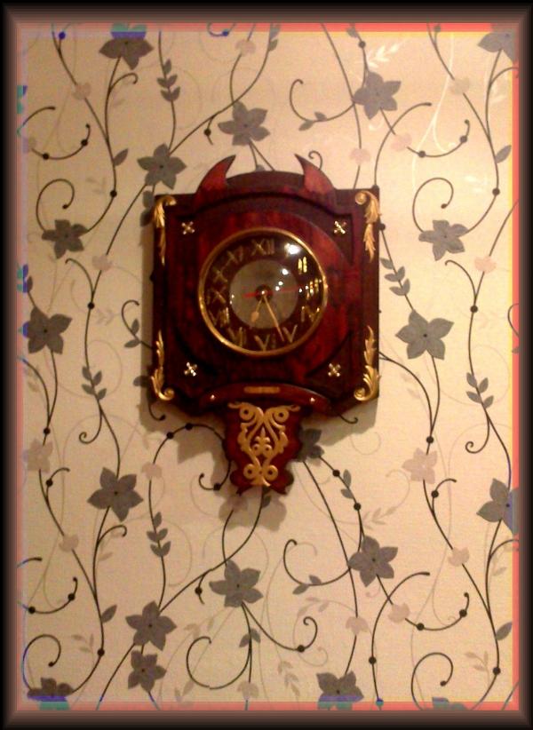 Часы {В неизвестном направлении} (Фото 4)
