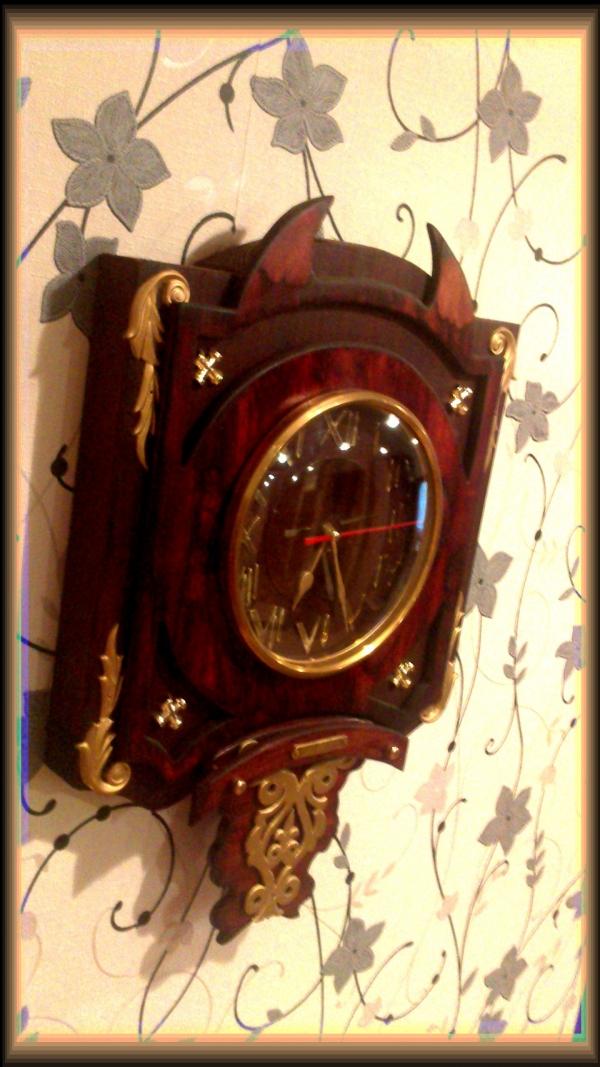 Часы {В неизвестном направлении} (Фото 3)