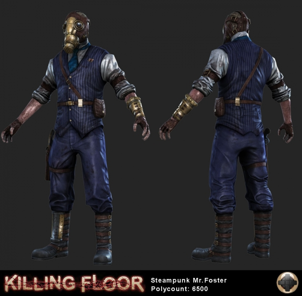 Killing Floor - Steampunk Characters (Фото 2)
