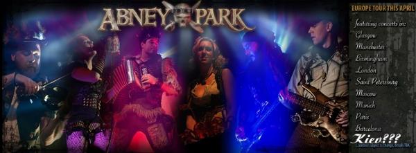 Возможный концерт Abney Park в Киеве