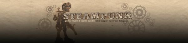 Кучка игр музыки и комикс в стилистике стимпанк за доллар.