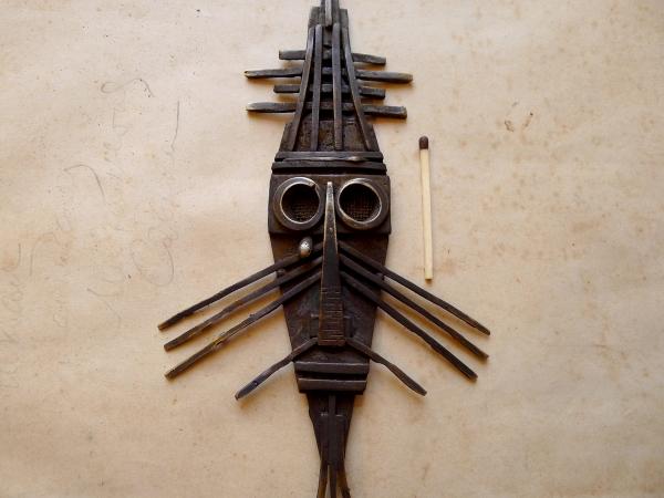 Ритуальная маска племени Рекнапмитс