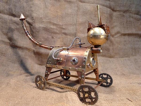 Паровой Кот из Чешира (Чеширский Парокот)