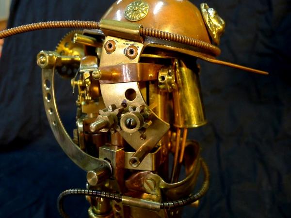 Голова военного робота системы Персиваль-8Д
