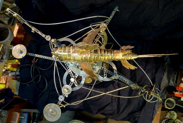 Техстанция по обслуживанию летающих механических рыб