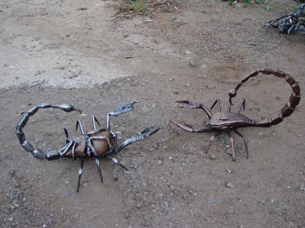 Членистоногие в металле (Фото 18)