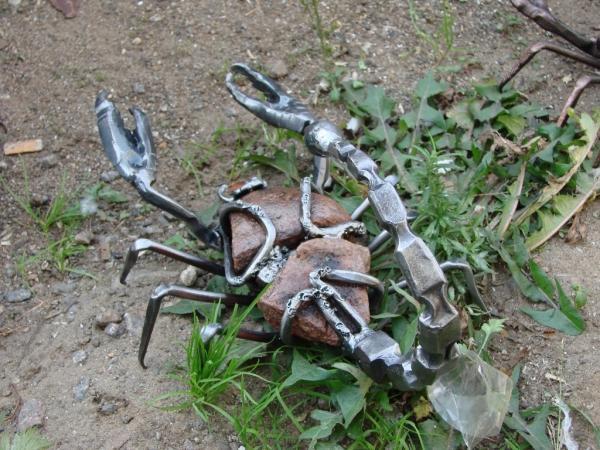 Членистоногие в металле (Фото 14)
