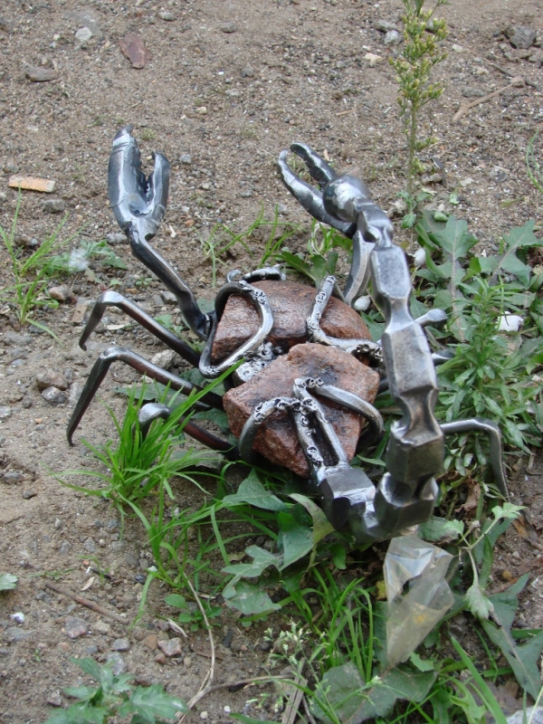 Членистоногие в металле (Фото 16)