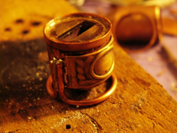 Steampunk флешка. Вторая... (ворклог) (Фото 29)