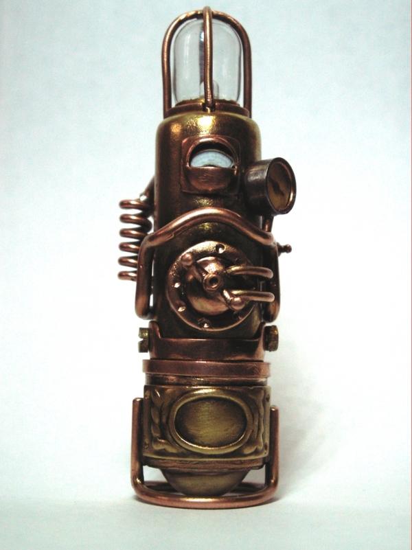 Steampunk флешка. Вторая... (ворклог)