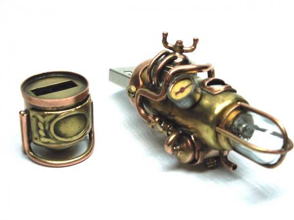 Steampunk флешка. Вторая... (ворклог) (Фото 41)