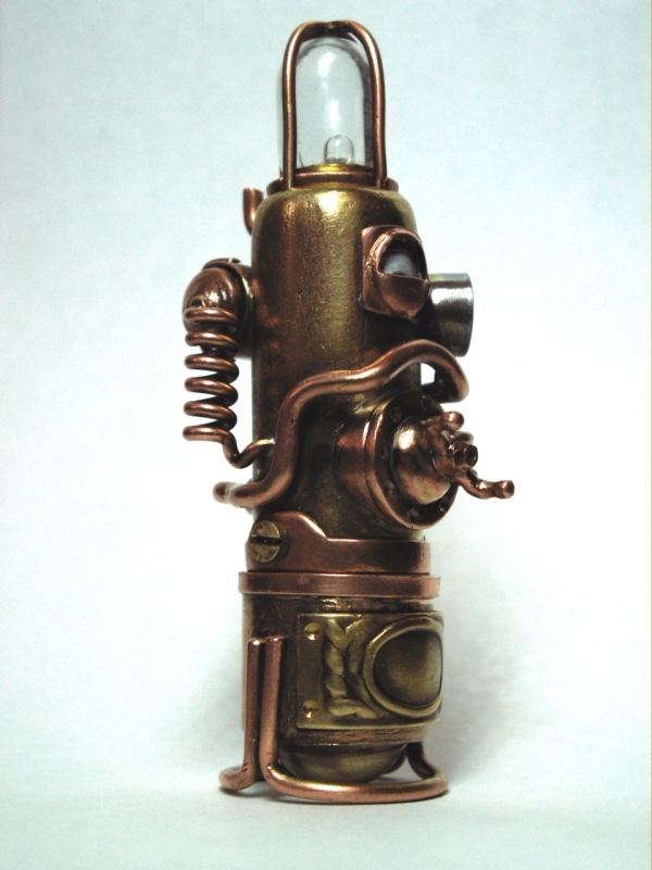 Steampunk флешка. Вторая... (ворклог) (Фото 37)