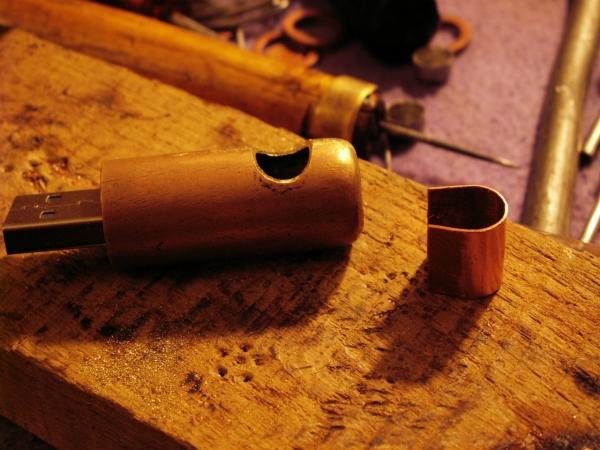 Steampunk флешка. Вторая... (ворклог) (Фото 15)