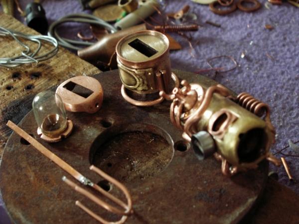Steampunk флешка. Вторая... (ворклог) (Фото 31)