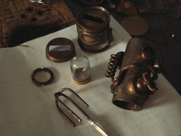 Steampunk флешка. Вторая... (ворклог) (Фото 33)